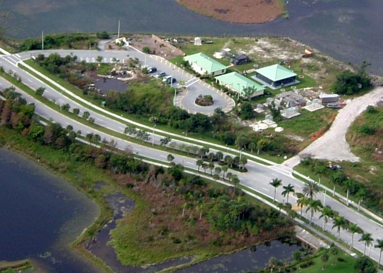 Sawgrass Nature Center Aerial