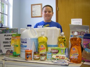 Aug_28_Paul_Horowitz_donates_cleaning_supplies_and_food_for_the_animals